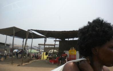 Market near Samba, Luanda
