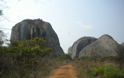 Pungo Andongo or the black rocks near Malanje