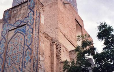 Timurid mosque Samarkand, Uzbekistan