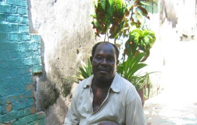 Man in Jacmel
