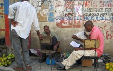 Street scene Port au Prince