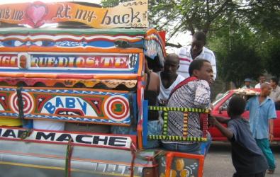 Tap tap, Port au Prince
