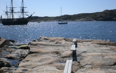View from marstrand west sweden